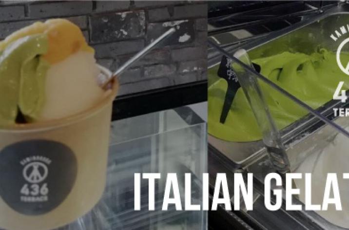 436TERRACE イタリアンジェラート始めました!